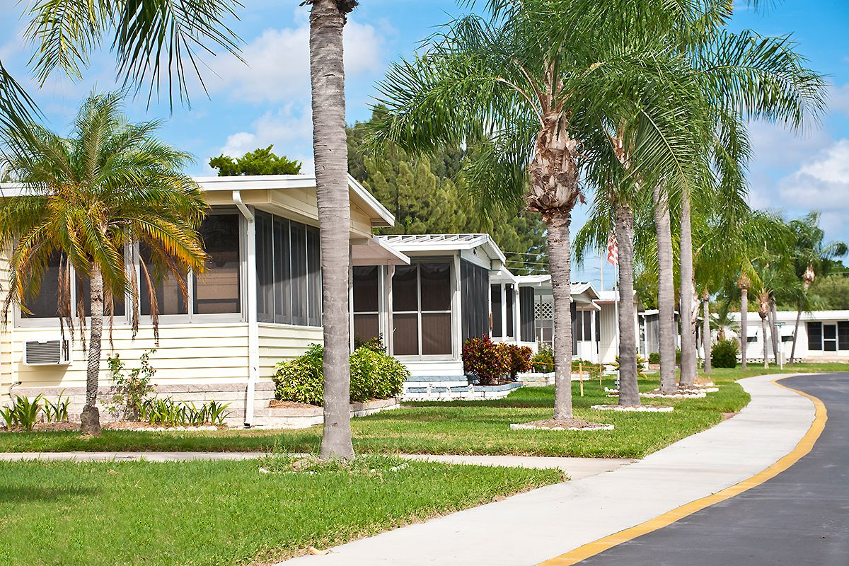 manufactured home community rent occupancy data