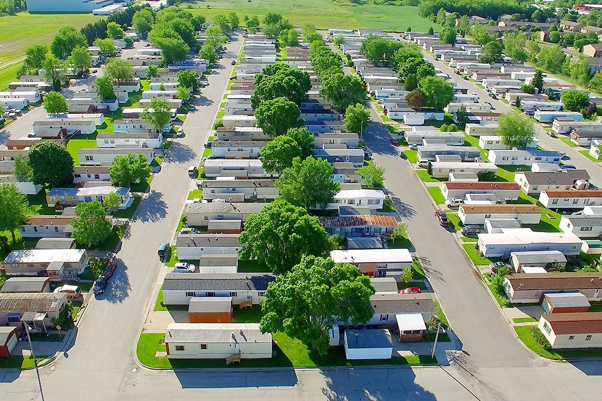 manufactured mobile home industry sales activity data