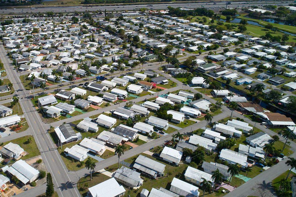 mobile home community portfolio valuation