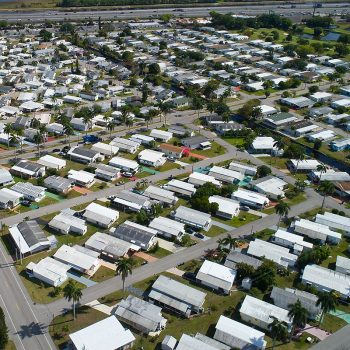 mobile home community portfolio valuation