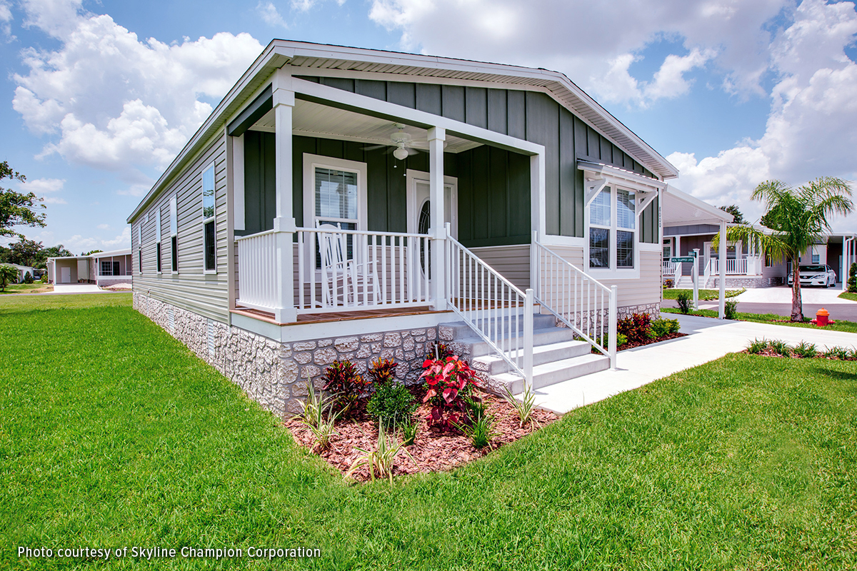 new manufactured home retail value msrv