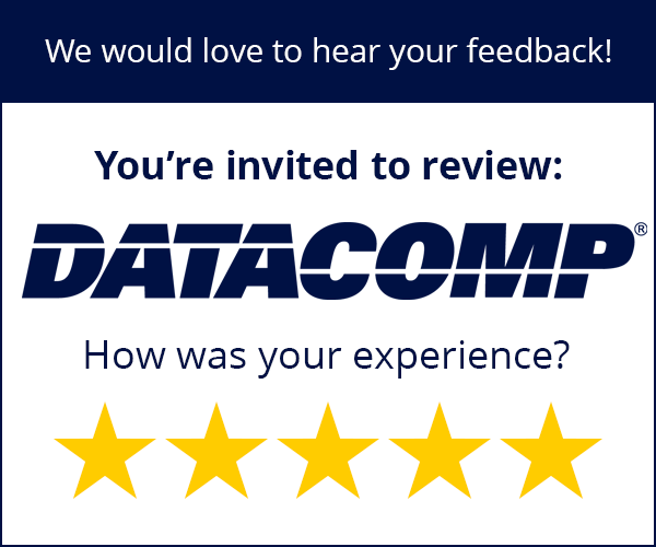 How was your datacomp experience? Leave a review here.